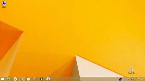 Boot directly to the desktop in Windows 8.1 | Crounji | Scoop.it