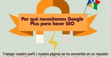 Por qué es necesario Google+ para el SEO (infografía) - Soft & Apps | Infograf | Scoop.it