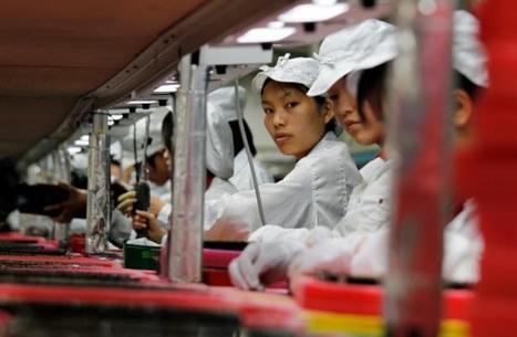 Les ouvriers chinois, trop chers, remplacés par des robots | 694028 | Scoop.it