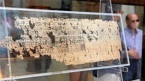 Le plus vieux papyrus connu au monde exposé au Musée du Caire | Arts et FLE | Scoop.it