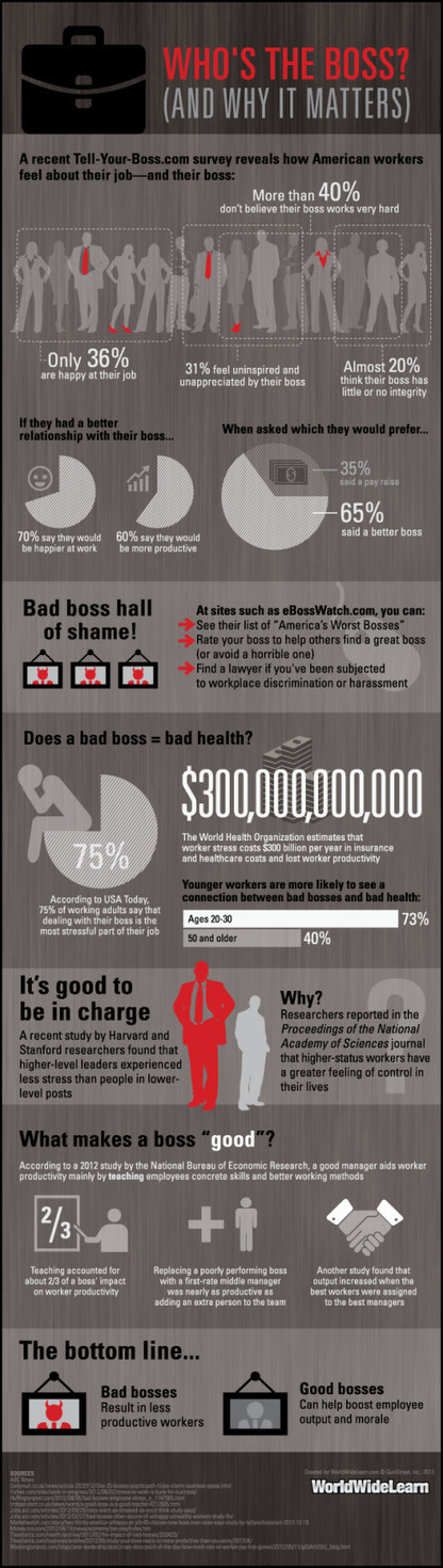 Who's the boss? & why it matters | Et si on changeait de paradigme managérial? | Scoop.it