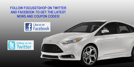 2013 Ford Focus ST Performance Parts and Accessories - ON SALE NOW! | What Good Cars Are Made Of | Scoop.it