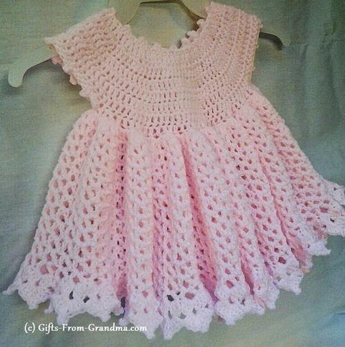 Beginner Crochet Baby Dress Patterns Pakbit For