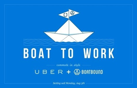"""Lifejackets-On With """"Boat To Work"""" From Uber And Boatbound   TechCrunch   Sailing and Regatta : Apps, SW & Tracking   Scoop.it"""