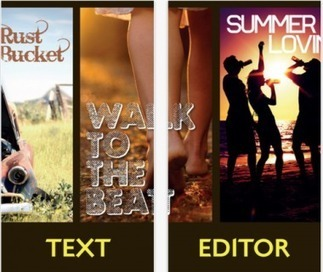 Front – your free photo text editor - iPhone/iPad App - AppFutura | iOS Mobile Apps | Scoop.it