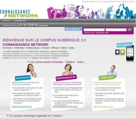 Le campus numérique 2.0 de la formation professionnelle | Groupe ARPEGE : Education 3.0 | Scoop.it