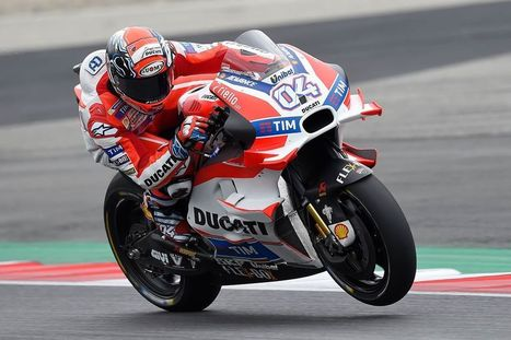 Austrian GP: Dovizioso first, Iannone second after first day of free practice, with Pirro ninth | Ductalk Ducati News | Scoop.it