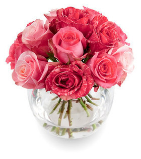 12stems pink roses bouquet deliver to your wife on New Year's Day – Pink_Roses_Bouquet#006 | Collection of flowers | Scoop.it
