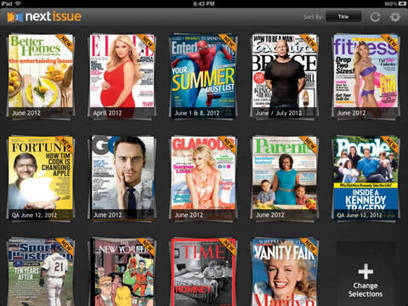 Next Issue Launches Netflix-like Magazine Subscriptions for iPad | Pobre Gutenberg | Scoop.it