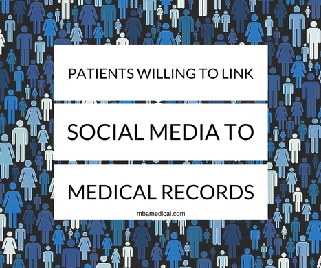 Patients Willing to Link Social Media to Medical Records | practice management | Scoop.it