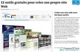 Le site du jour : 12 outils gratuits pour créer son propre site Web | Guillaume Grisel | Scoop.it