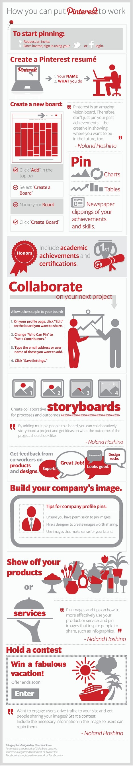 Great Pinterest Tips for Students | Curation Education & Design | Scoop.it