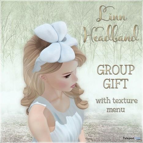 Linn Headband Group Gift by Belle Epoque | Teleport Hub - Second Life Freebies | Second Life Freebies | Scoop.it