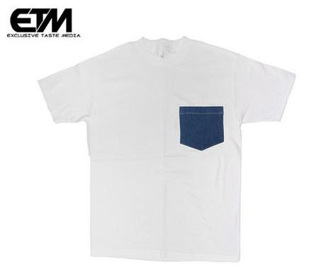 Genuine Denim Pocket Tee (Limited Edition) | Exclusive Taste | streetwear | Scoop.it