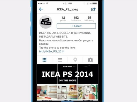 Ikea Launches The First Website On Instagram [THE BRIEF]   Social Media   Scoop.it
