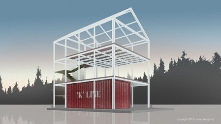 """Eco-Pak"" expands on shipping container houses 