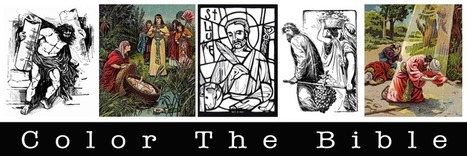 Color The Bible: Coloring Page Index | Resources for Catholic Faith Education | Scoop.it