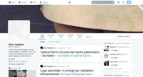 Nuova veste grafica Twitter: da restare a bocca aperta | MoveUp | Web Marketing | Scoop.it