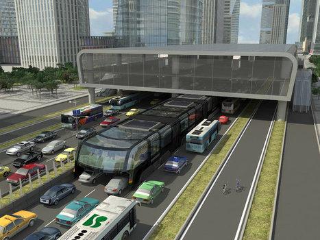 Le bus enjambeur chinois TEB n'était qu'une arnaque - Express [FR] | Freewares | Scoop.it