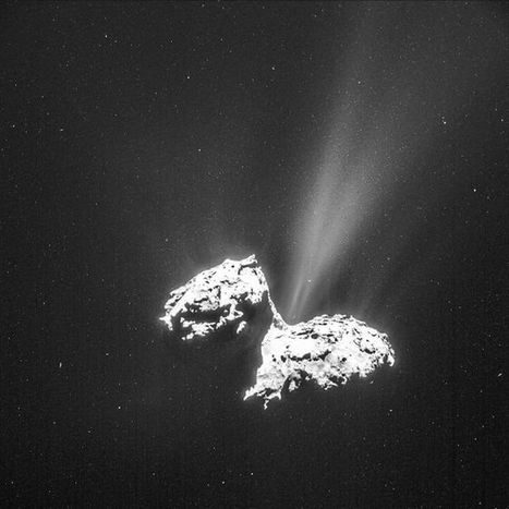 Dusty Avalanches Probably Cause Comet Outbursts | Year 7 Science - interesting articles | Scoop.it