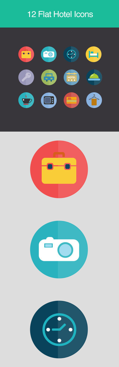 Free Flat Icons Sets for UI Design | Icons | Graphic Design Junction | Infographic inspiration | Scoop.it