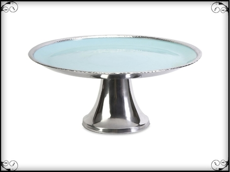 Donna Enamel Pedestal Stand   Furniture and Home Decor   Scoop.it