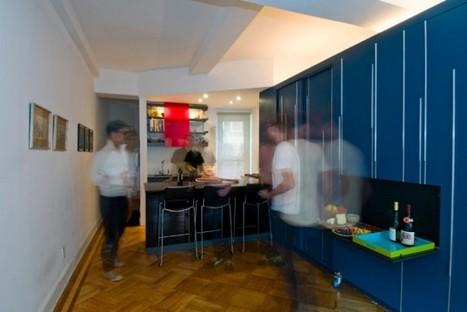5 Super Efficient Tiny New York Apartments | Inhabitat New York City - StumbleUpon | Espacios Reducidos | Scoop.it