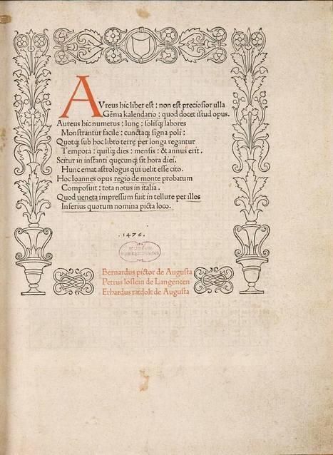 The First Title-Pages — I Love Typography | Édition, livre numérique et valorisation des publications scientifiques | Scoop.it