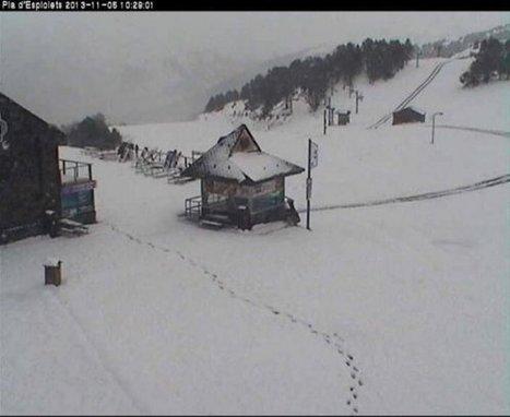 Première neige dans les Pyrénées | Pyrénées | Scoop.it