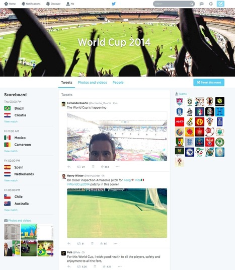 Infographic: Social Media and the 2014 World Cup | Evrystry (because EVERY STORY matters) | Scoop.it