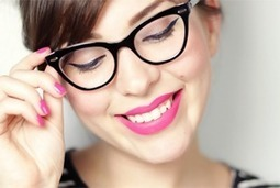 """ENHANCE THE OVERALL LOOK WITH GLASSES 