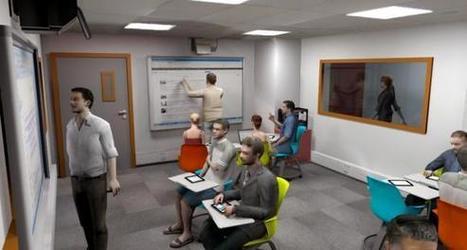 Grenoble École de management teste la salle de classe du futur | Let's T&LK | Scoop.it