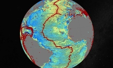 Uncharted ocean mountains, trenches and ridges revealed by satellite map | Culture, Bodies & Technology | Scoop.it