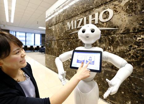 Pepper s'invite dans une banque japonaise - H+ Magazine | Des robots et des drones | Scoop.it