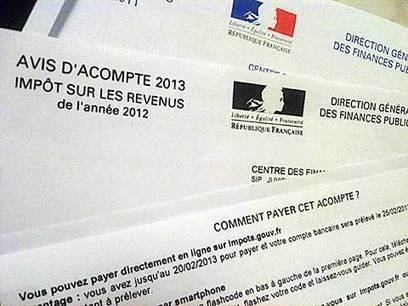 Impôts 2013 : l'envoi des avis du premier tiers provisionnel a débuté | la fiscalité | Scoop.it