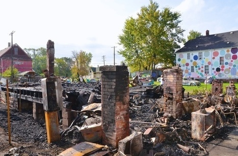 After a String of Fires, Detroit's Heidelberg Project Vows to Rise from the Ashes - The Atlantic Cities | Art and Art Marketing | Scoop.it