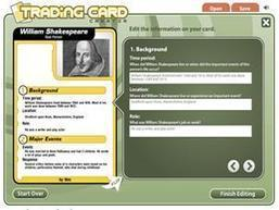 Trading Card Creator - ReadWriteThink | Tech Classroom Integration | Scoop.it