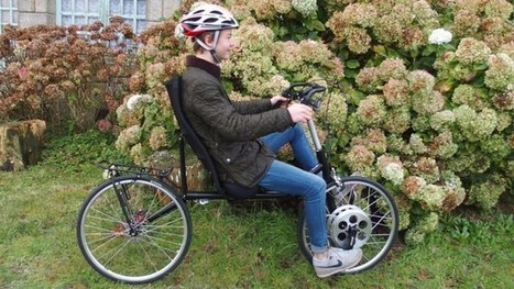 Front-wheel-drive KerVelo bike eliminates the chain   Innovation from chemistry   Scoop.it