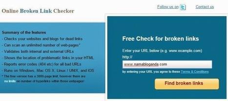 Cara Cek Broken Link Blog dengan Mudah - imuzcorner | imuzcorner | Scoop.it