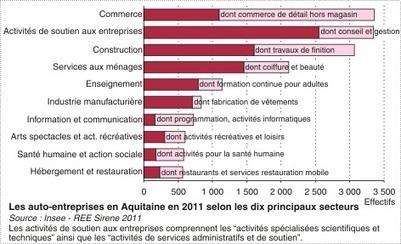 Insee - Entreprises - Les auto-entrepreneurs en Aquitaine | BIENVENUE EN AQUITAINE | Scoop.it