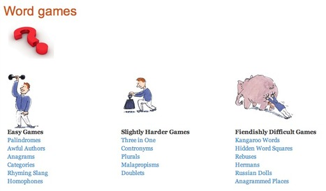 Word games : Oxford Dictionaries Online | 6-Traits Resources | Scoop.it