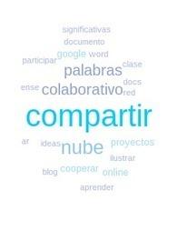 Nube de palabras en Google Docs   EDUCACIÓ   Scoop.it