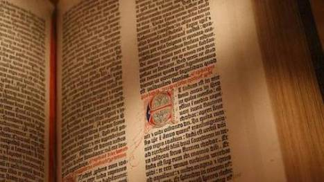 Gutenberg Bible, the book that 'changed the world', on display in Melbourne - Yahoo!7 News | Biblical Interpretation | Scoop.it