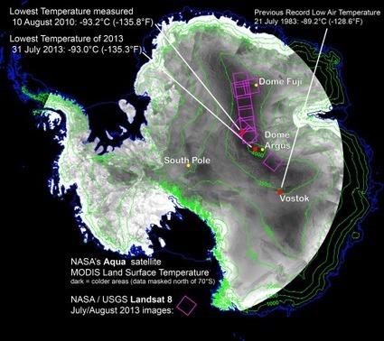 L'endroit le plus froid de la planète ? L'Antarctique, avec -93,2 °C   Tout le web   Scoop.it