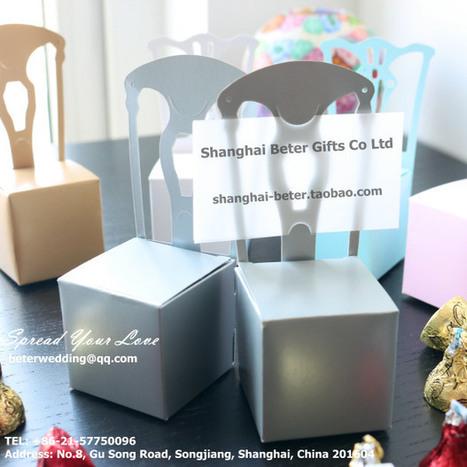 12pcs TH002 Silver Wedding decoration Favor boxes 生日庆生-淘宝网 | Wedding Favor Boxes | Scoop.it