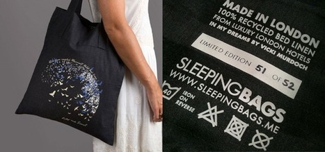 Hotel creates tote bag made from used bedsheets | BeBetter | Scoop.it