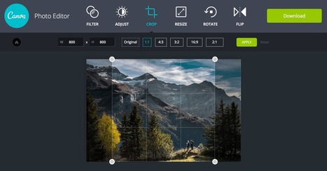 Awesome Free Photo Editor by Canva | E-learning, Blended learning, Apps en Tools in het Onderwijs | Scoop.it