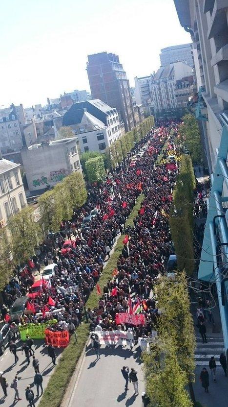 CNA: Fuego, gas y cócteles molotov: Francia arde por una Reforma Laboral | La R-Evolución de ARMAK | Scoop.it