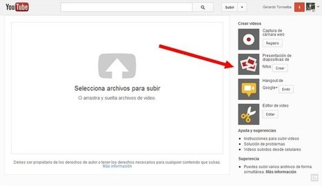 YouTube ya permite realizar presentación de fotos | Editores GFA | Scoop.it