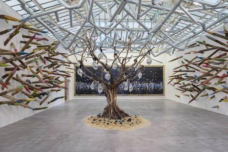 Pascale Marthine Tayou, artiste «gri-gri» pour la VNH Gallery - Libération | art move | Scoop.it